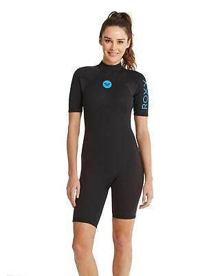be762d6ef5 NEW ROXY™ Womens Syncro Base 2 2mm Short Sleeve Springsuit Wetsuit Womens  Surf