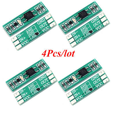 4Pcs Optocoupler Isolation Module 5V Input NPN Output Signal Level Conversion