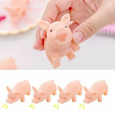 1 Pcs Cute Pig Toy Anti-Stress Squishy Toys Squeeze Gifts Children Soft Silicone