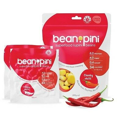 Lupini Bean Starter Box (2 of each flavour) 2 packs (Total of 8 Packs of 200g)