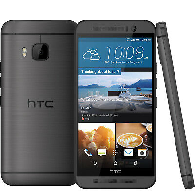 HTC One M9 in Grau Handy Dummy Attrappe - Requisit, Deko, Werbung, Ausstellung