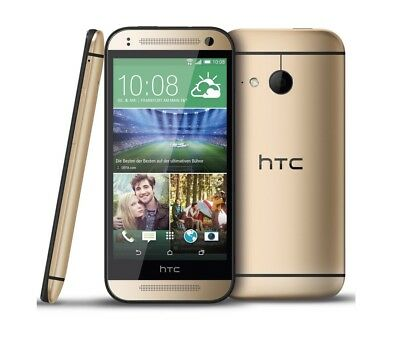 HTC One mini 2 in Gold Handy Dummy Attrappe Requisit, Deko, Werbung, Ausstellung