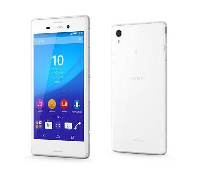 Sony XPERIA M4 Aqua in Weiß Handy Dummy Attrappe - Requisit, Deko, Muster