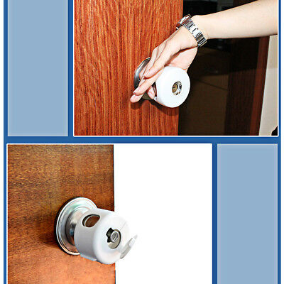 1PC Child Proof Safe Door Knob Cover Children Safety Lock Kids Toddler Guard