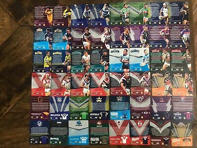 NRL 2013 Tip Top Sunblest Tazo Trading Cards FULL SET Unopened Pack