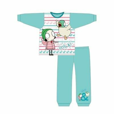 Toddler Girls Sarah and Duck Pyjamas Set Sleeping Ducks 18-24 Month to 4-5 Year