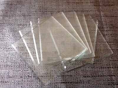 Clock Glass  Alarm Etc. High Quality Bevelled Square 77mm £9.99 Each 6 Available