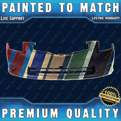NEW Painted To Match Front Bumper Cover for 2010 2011 2012 Nissan Sentra Base/S