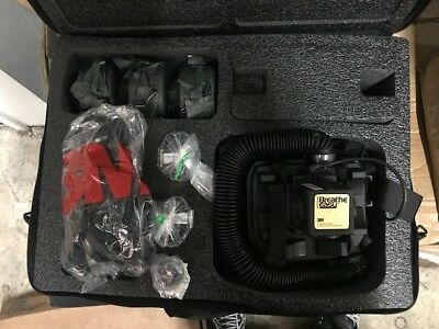3M Breathe Easy Turbo Vest-Mounted Powered Air Purifying Respirator  Kit W. case