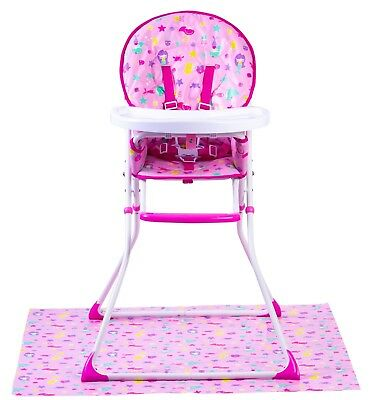 Red Kite Feed Me Compact Highchair - Mermaid