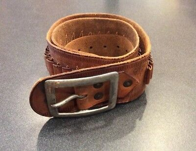 Vintage Maker Marked Hibbard Spencer, Bartlett & Co. Western Cartridge Belt
