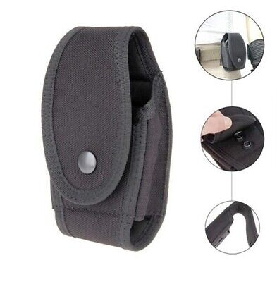 Black Nylon Police Guard Handcuff Case MOLDED Belt Cop Hand Cuffs Case Pouch