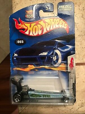 """( 2 ) Vintage HOT WHEELS WITH """" THE MONGOOSE """" DRAGSTER - 1995 & 2002 VERSIONS"""