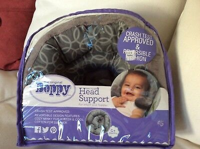 """New, Original Boppy """"way to go"""" Head Support for Infant and Toddlers"""