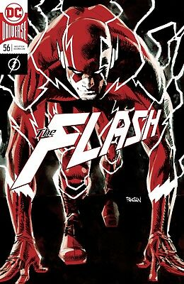 The Flash #56 Foil Cover - 1St Print -  Dc Comic- Bagged & Boarded. Free Uk P+P