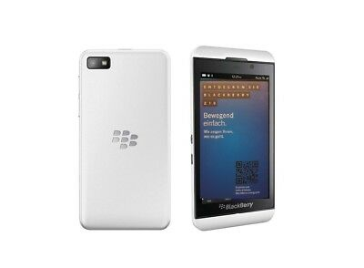 BlackBerry Z10 in Weiß Handy Dummy Attrappe - Requisit, Deko, Ausstellung