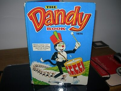 The Dandy Book 1974 - (Unclipped) 55p - Good Condition -
