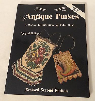 Antique Purses reference book by Richard Holiner Collector Books 1990