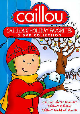 CAILLOU HOLIDAY FAVORITES 3 DVD COLLECTION! PBS Kids - $9 ... Caillou Family Collection 9 13