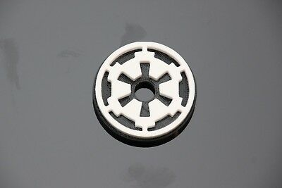 """Star Wars Imperial Logo Inspired 45 RPM 7"""" Record Adapter"""
