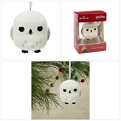 Hedwig Owl Harry Potter Hallmark Christmas Ornament Collectible