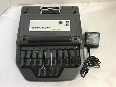 Stentura 200 SRT Stenograph Electric Steno Court Reporting Machine