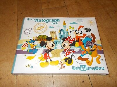 NWTS DISNEY PARKS Walt Disney World Official Autograph Book SEALED