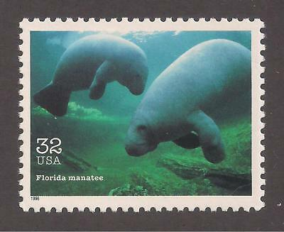 Florida Manatee - Endangered Species - U.s. Postage Stamp - Mint Condition