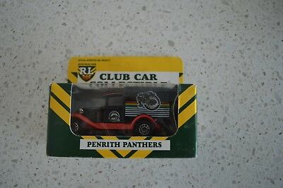 Penrith Panthers Rare Boxed Arl Limited Edition Matchbox Car! Nrl