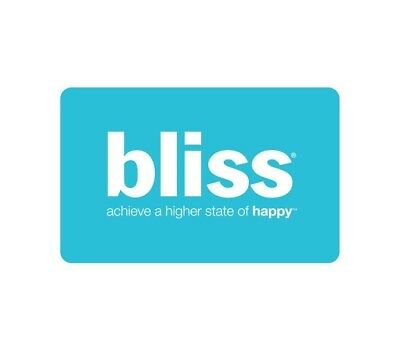 $100 Bliss Spa Gift Card - FREE & FAST SHIPPING!