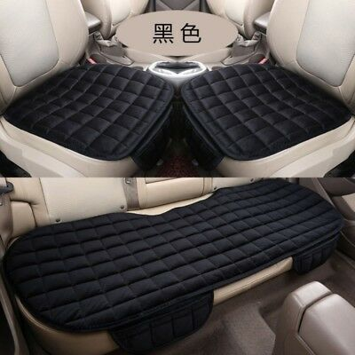 Front & Rear Back Car Seat Cover Auto Protector Mat Chair Cushion Pad Universal