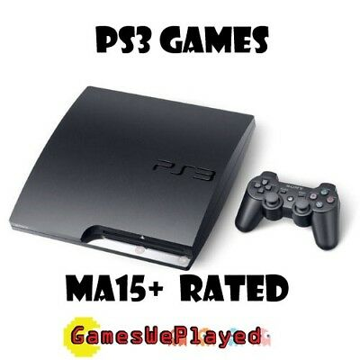 Playstation 3 Games PS3 PAL *Complete* Large Selection MA15+ Titles