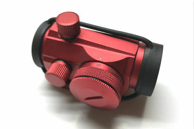 Red 4MOA Red Green Dot Reflex Sight Low Profile Micro Weaver Picatinny Mount