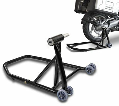 Paddock stand rear BMW R 1200 S 06-08 black single sided swing