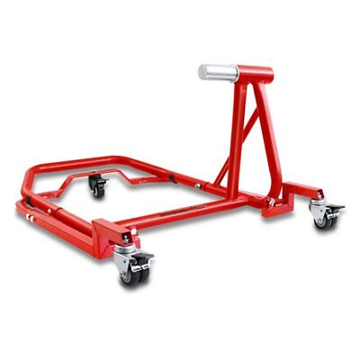 Motorcycle Dolly Mover Ducati Panigale V4 2018 red Rear Paddock Stand