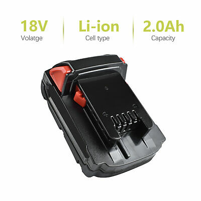 One or Two for Milwaukee 48-11-1820 M18 18-Volt Li-Ion 2.0 Ah Compact Battery TP