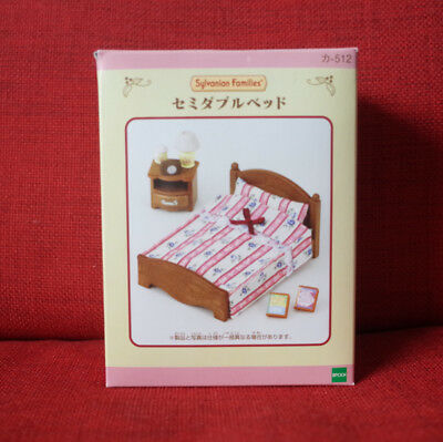Sylvanian Families SEMI-DOUBLE BED FOR BEDROOM Epoch Calico Critters