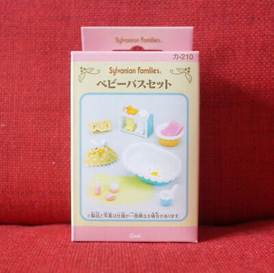 Sylvanian Families BABY BATH SET Epoch Calico Critters