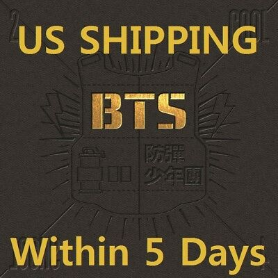 US SHIPPING BTS[2 COOL 4 SKOOL]1st Single CD+Booklet+Card+Gift+Tracking K-POP