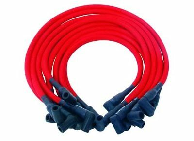 DUI Spark Plug Wires LiveWires Spiral Core 10mm Red Wires Black Boots Ford V6