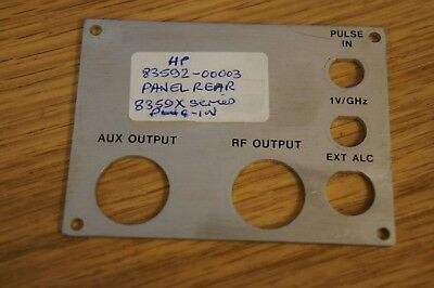 Hewlett Packard 83592-00003 Rear Panel 8359 X Series Plug In - EQ-46-17
