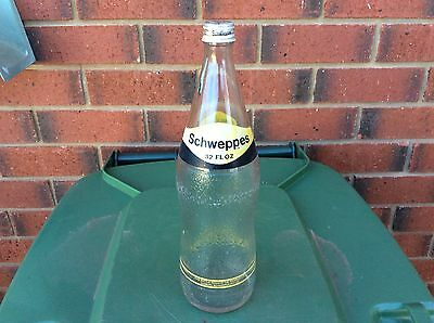Vintage Schweppes Glass Bottle