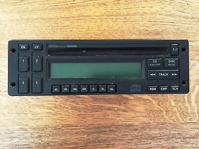 Classic Saab 900  1993 Clarion CD player /  Equalizer