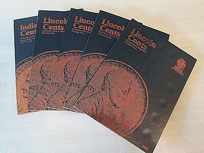 One set of Whitman Indian Head/Lincoln Cent Folders 1857-2014---#9003 - 4004
