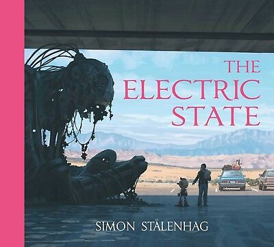 Signed Book - The Electric State by Simon Stålenhag