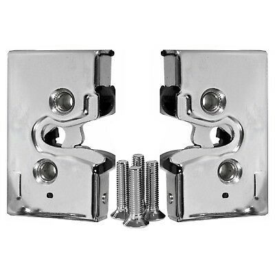 PAIR of Chrome Front Door Lock Mechanism VW Golf Mk1 MK2 Driver & Passenger EAP™