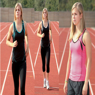 Precision Training Running Vest Ladies Training Tops Sports Tank Top rrp£24