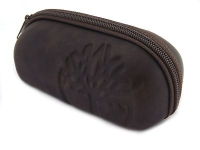 TIMBERLAND - Large Sized Sunglasses Glasses Zip Case - Brown