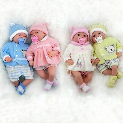 "20"" Realistic Reborn Handmade Sleeping or Open Eyes Baby Girl / Boy Doll"