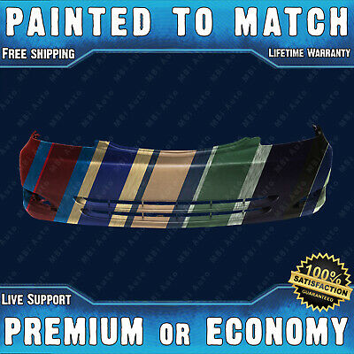 Painted To Match- Front Bumper Replacement for 2002 2003 2004 Toyota Camry w/Fog